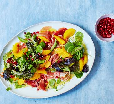 Citrus and Pomegranate Salad image