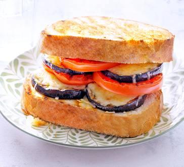 Eggplant Parm Sandwiches image