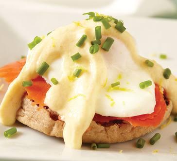 Salmon Eggs Benedict image