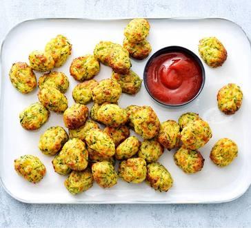 Cheesy Zucchini Tots image