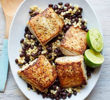 Zesty Mahi Mahi with Corn and Black Beans image