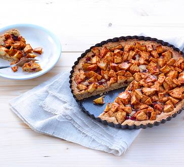 Apple and Honey Tart image