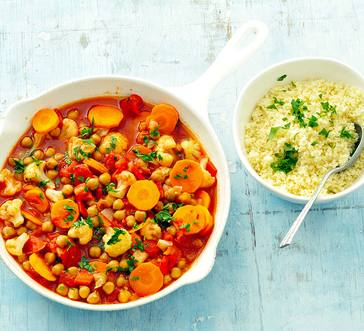 Chickpea and Vegetable Stew image