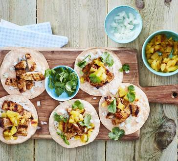 Pork and Pineapple Tacos image