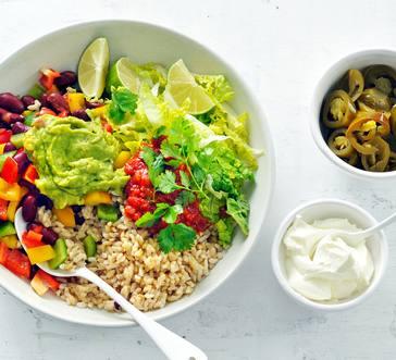 Veggie Burrito Bowl image