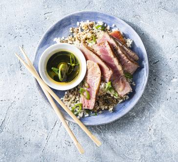 Seared Tuna with Lime Dipping Sauce image