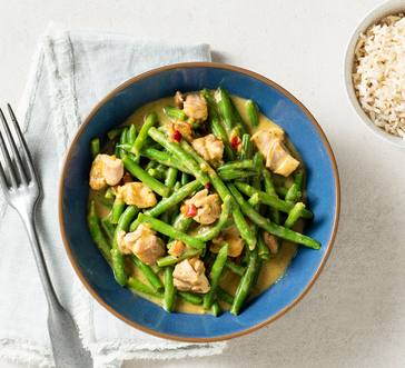 Green Curry with Chicken image