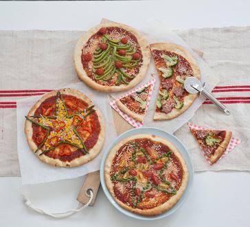 Make Your Own Veggie Pizzas image