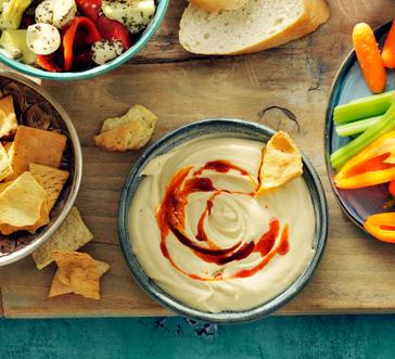 Smoky 'n' Spicy Hummus image