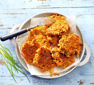 Carrot Fritters image