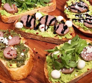 Premio Sausage Avocado Toast image