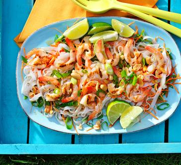 Pad Thai Salad with Shrimp image