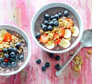 Blueberry Smoothie Bowl image