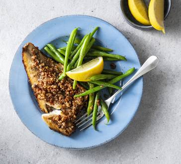Honey and Pecan–Crusted Fish image