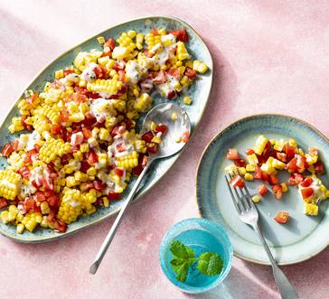 Tomato and Corn Salad image