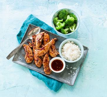 Sweet and Spicy Chicken Tenders image