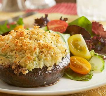 Grilled Stuffed Portabella Mushrooms image