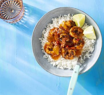 Grilled Shrimp with Mango Chutney image