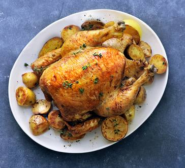 Roast Chicken and Potatoes image