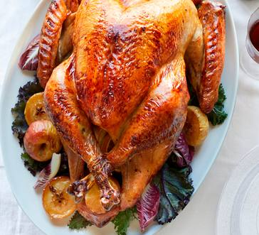 Cider-Roasted Turkey with Giblet Gravy image