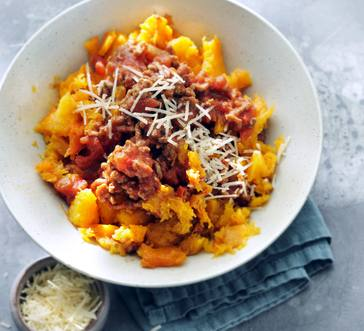 Slow Cooker Spaghetti Squash Bolognese image