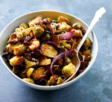 Dijon-Roasted Brussels Sprouts image