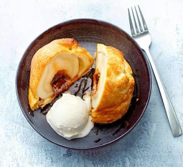 Baked Pear Dumplings image