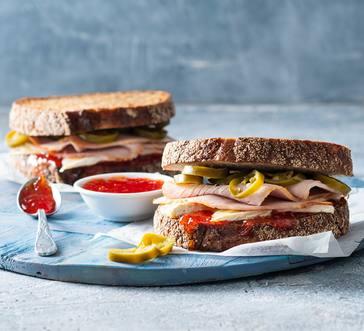 Turkey Sandwich with Pepper Jelly image