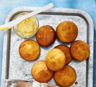 Maple-butter Corn Muffins image