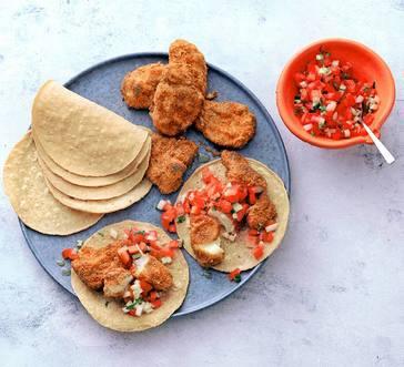 Roasted Cod Tacos image