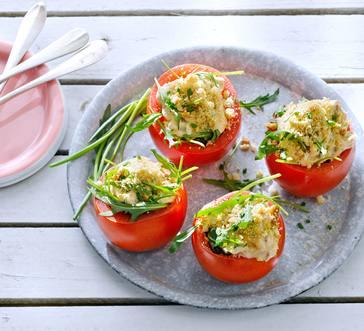 Chicken Salad–Stuffed Tomatoes image