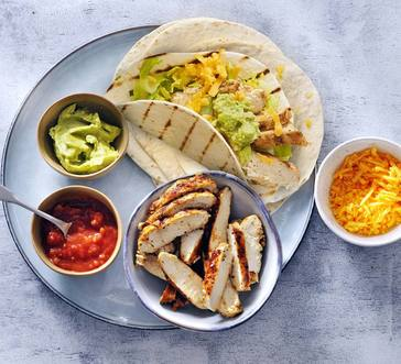 Grilled Chicken Tacos image