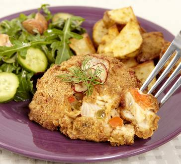 Imitation Crab Cakes with Cajun Seasoning image