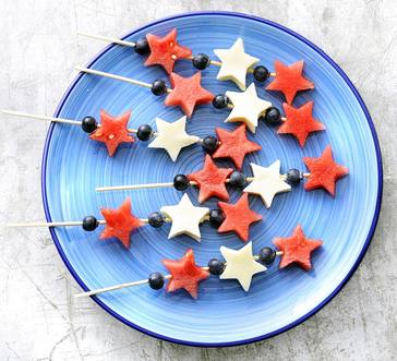 Fruit and Cheese Sparklers image