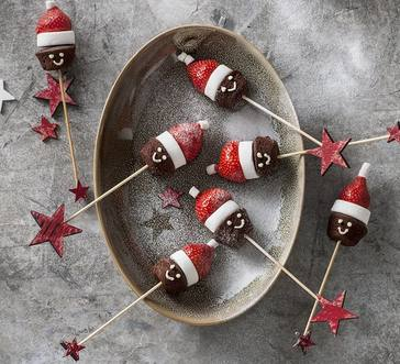 Strawberry Santa Sticks image