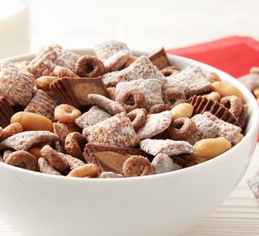 Chocolate Peanut Butter Cheerios™ Chex™ Muddy Buddies™ image