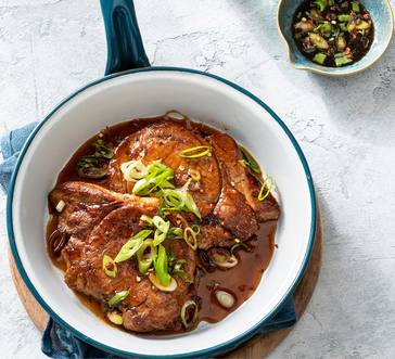 Soy and Honey Pork Chops image