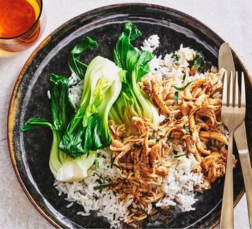 Slow Cooker Teriyaki-Braised Chicken image