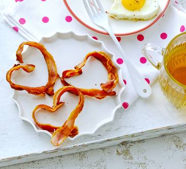Heart-Shaped Bacon image