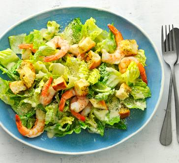 Shrimp Salad with Garlic Croutons image