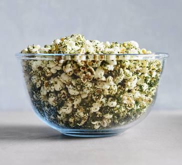 Kale Popcorn image