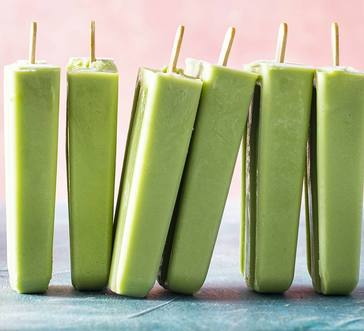 Creamy Avocado-Coconut Pops image