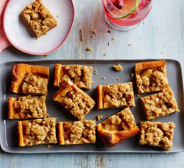 Pear Streusel Bars image