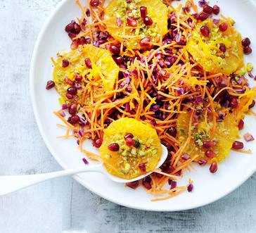 Carrot and Orange Salad image