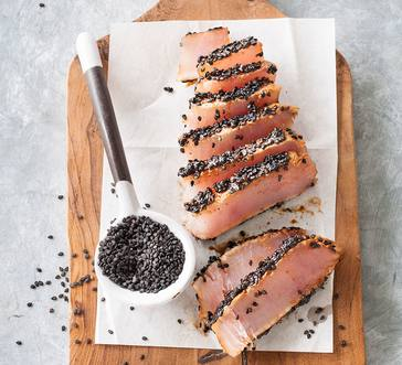 Sesame Crusted Tuna image