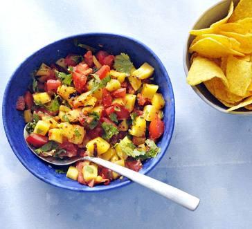 Grilled Mango Salsa image