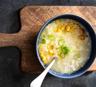 Corn Egg Drop Soup image