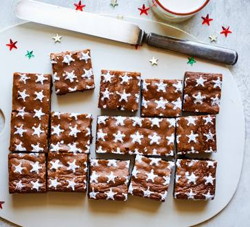Gingerbread Brownies image