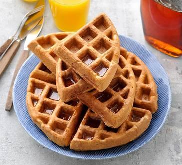 Gluten-Free Pumpkin Spice Waffles image