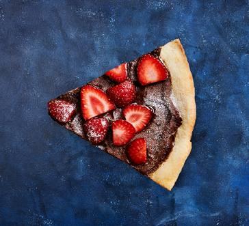 Chocolaty Dessert Pizza image